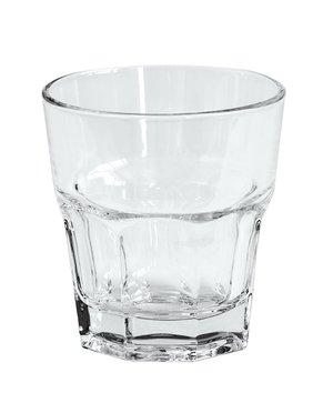 Krat met 24x Waterglas 25 cl