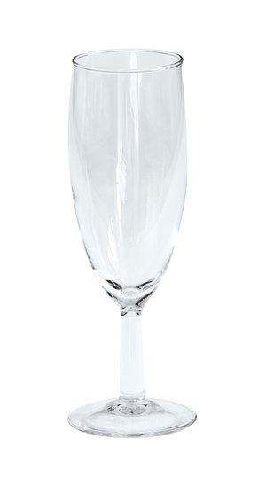 Krat met 40x Champagne flute 17 cl