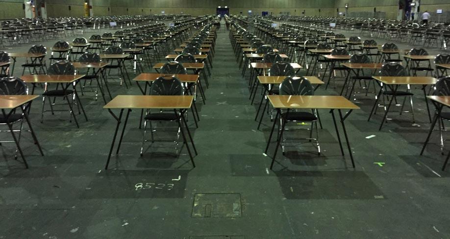 Specialist in examentafels en stoelen