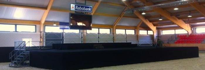Podium inclusief tapijt, Ermelo