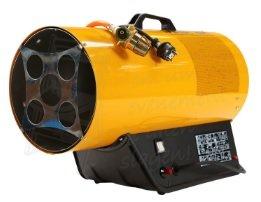 Blower heater op gas voor werkplaatsen en grote feesttenten